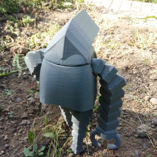 picture (7).jpg Download STL file Giant Robots • Model to 3D print, Janis_Bruchwalski