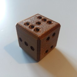 picture (2).jpg Download free STL file Dice that goes from 2 to 7 • 3D printer object, Janis_Bruchwalski