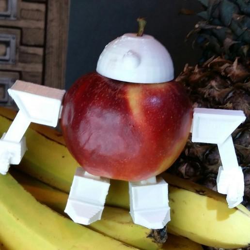 Download free 3D printing files Fruit Robot , JanisBruchwalski