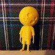 Download free 3D printer templates Moon Man, JanisBruchwalski