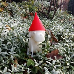 picture (6).jpg Download free STL file ´´Gartenmops´´ the Pug Gnome • 3D printer template, Janis_Bruchwalski