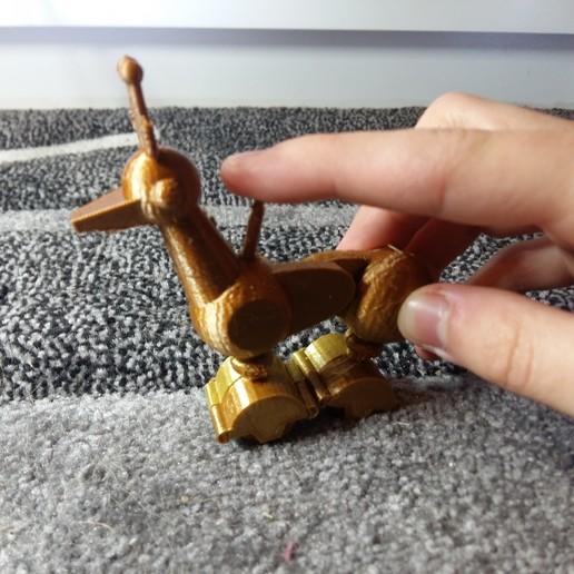 picture (2).jpg Télécharger fichier STL gratuit Cerf robot contrôlé par les doigts • Objet pour impression 3D, Janis_Bruchwalski