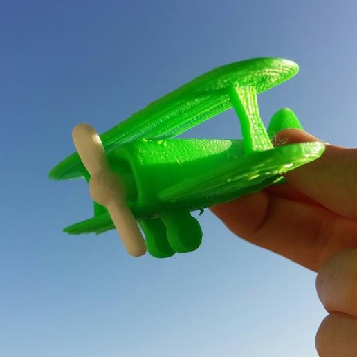 Télécharger fichier STL gratuit Jouet d'avion • Objet à imprimer en 3D, Janis_Bruchwalski