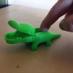 Descargar modelo 3D gratis Kroko, JanisBruchwalski