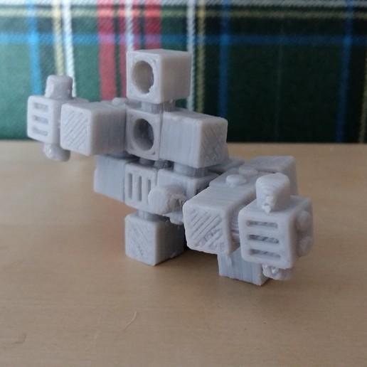 picture 2.jpg Download free STL file Invation robots • 3D printing object, Janis_Bruchwalski