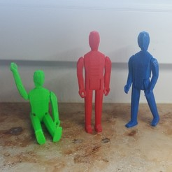 picture (1).jpg Download free STL file Action figure V2 • 3D printable design, Janis_Bruchwalski