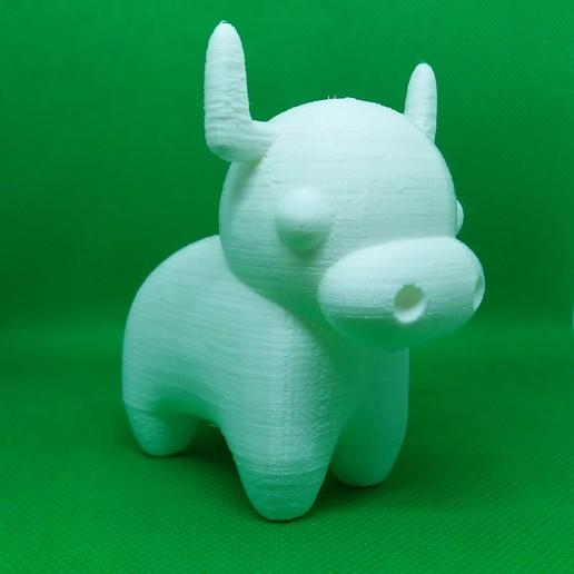 Cow 9.jpg Télécharger fichier STL gratuit Vache • Design à imprimer en 3D, Janis_Bruchwalski
