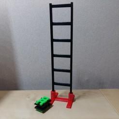 Télécharger fichier STL gratuit Échelle Peg Toy 3000: Codename Overkill • Modèle imprimable en 3D, Janis_Bruchwalski