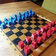 Download free STL file Hollow3 chess set • 3D print template, Janis_Bruchwalski