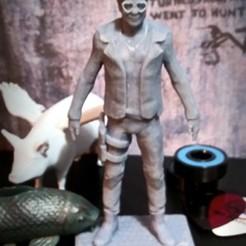 Download free STL file Elton John bust • 3D printable model, DirtyFacedKid