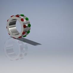 ANILLO ITALIA.jpg Download free STL file JEWELRY SET • Template to 3D print, PROJECTDESIGNERSPAIN