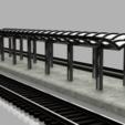 Download STL file HO Station platforms, romainrmz