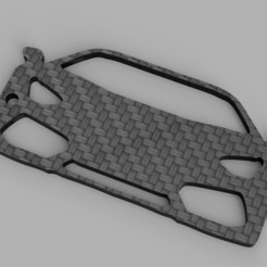 rendu.jpg Download STL file Lamborghini Aventador Key Chain • 3D print model, romainrmz