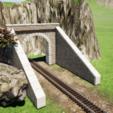 Descargar diseños 3D Entrada al túnel HO, romainrmz
