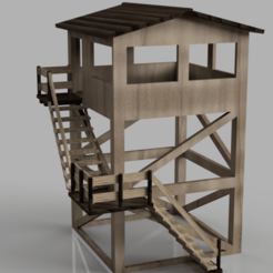 Tour_panoramique_2019-Nov-23_08-01-04PM-000_CustomizedView15540079714.png Download STL file HO Panoramic Tower • 3D printer design, romainrmz