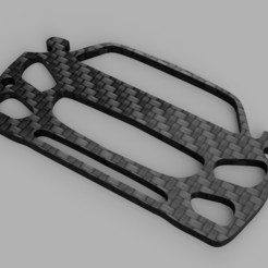 rendu.jpg Download STL file Mercedes AMG GT key ring • 3D print design, romainrmz