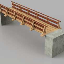 Passerelle_en_bois_2019-Nov-15_06-26-23PM-000_CustomizedView15481152639.png Download STL file Wooden footbridge Ho • 3D printable design, romainrmz