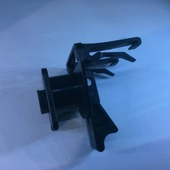 IMG_3978.JPG Download STL file Mounting Bracket Car Ventilation Grille • 3D printing design, romainrmz