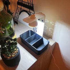 Rendu monté sans graines.jpg Télécharger fichier STL gratuit Potager Led DIY • Objet pour imprimante 3D, floriandorvidal