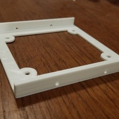 Download free STL file Simple Hard Drive Bracket (short) • 3D printer object, dtylerb
