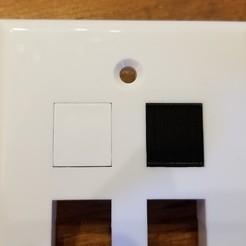 Download free 3D printing files Keystone Wall Plate Blank, dtylerb