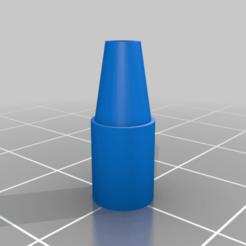 Descargar STL gratis Guía de filamentos de la extrusora Anycubic i3 Mega-S (cono), dtylerb
