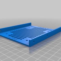 Download free STL file Simple Hard Drive Bracket (Long) • 3D printer object, dtylerb