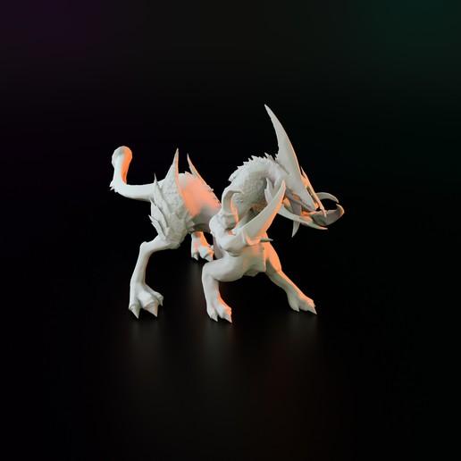 Télécharger objet 3D gratuit démon chimérique, Poney769
