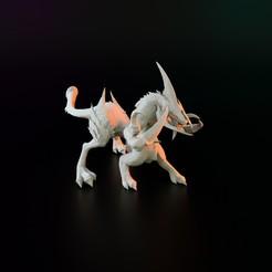 Descargar Modelos 3D para imprimir gratis demonio quimérico, Poney769
