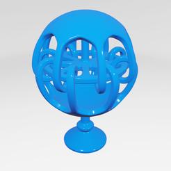 Impresiones 3D UA026 -- Escultura Abstracta, usaartist