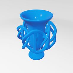 Impresiones 3D UA035 -- Escultura Abstracta, usaartist