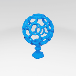Impresiones 3D UA008 -- Escultura Abstracta, usaartist