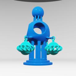 Descargar diseños 3D UA0022 -- Escultura Abstracta, usaartist