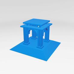 Imprimir en 3D UA0023 -- Escultura Abstracta, usaartist