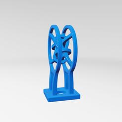 Download 3D printing templates UA0014 -- Abstract Sculpture, usaartist