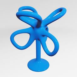 Impresiones 3D UA0019 -- Escultura Abstracta, usaartist