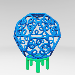 Descargar archivos 3D UA031 -- Escultura Abstracta, usaartist