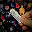 Download free 3D printer templates Mini Wallet Comb., lmhadzich