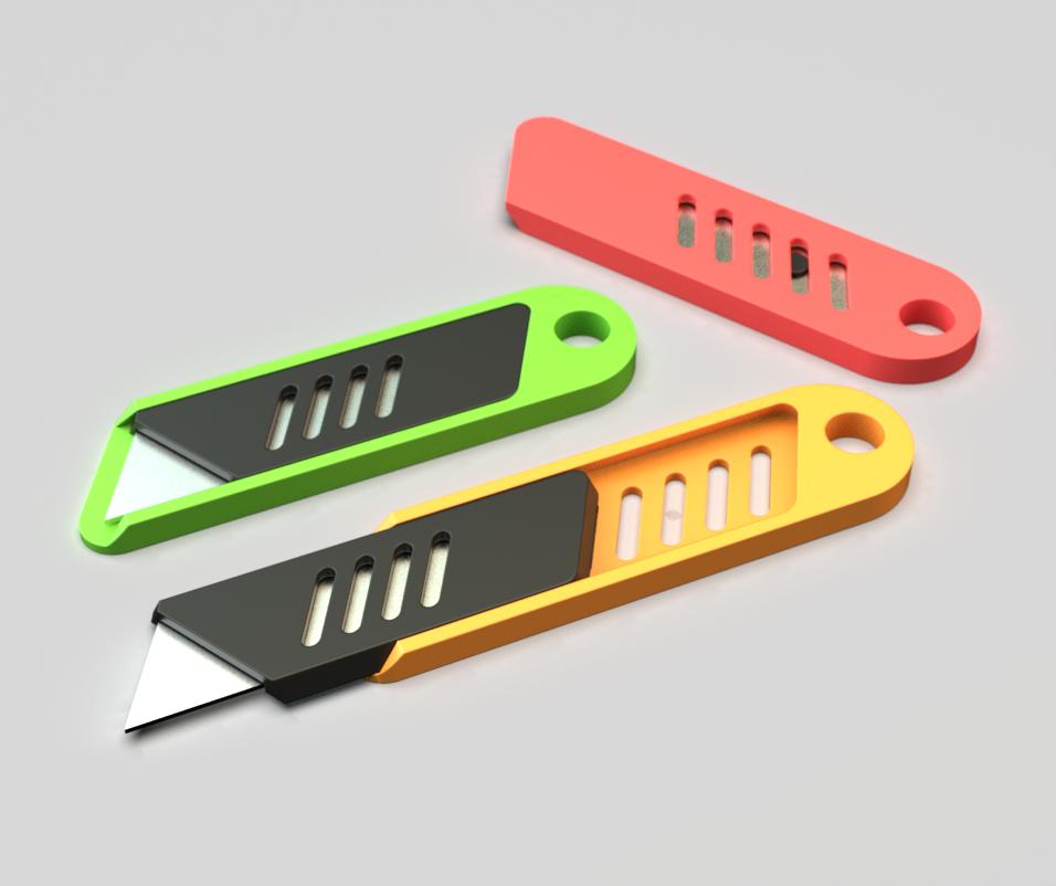 Mini Blades.PNG Télécharger fichier STL gratuit Mini lame de coupe. • Objet à imprimer en 3D, lmhadzich