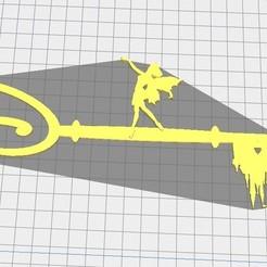 Disney Tinkerbell key v1.3.jpg Download STL file Disney Tinkerbell key v1.3 • 3D print design, 7Arts