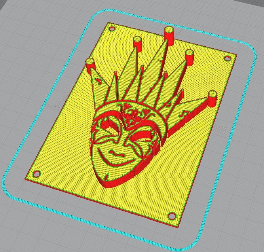 fgj.jpg Download free STL file Boris Brejcha Mask v1 • 3D printing object, La-Volailles
