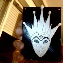 Download free STL file Boris Brejcha Mask v1 • 3D printing object, La-Volailles