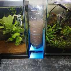 Imprimir en 3D gratis accesorios de acuario, Fl0