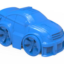 Download free STL file Police car • 3D printer design, hcchong