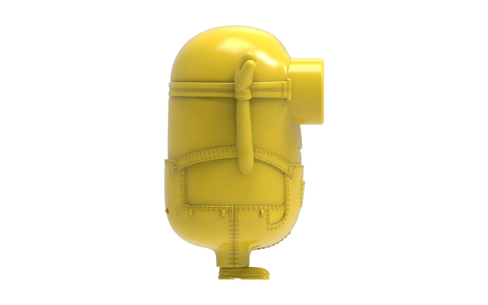 untitled.1652.png Download free STL file Minions Dave • Design to 3D print, hcchong