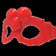 untitled.1659.png Download free STL file Elmo Mask • 3D print design, hcchong