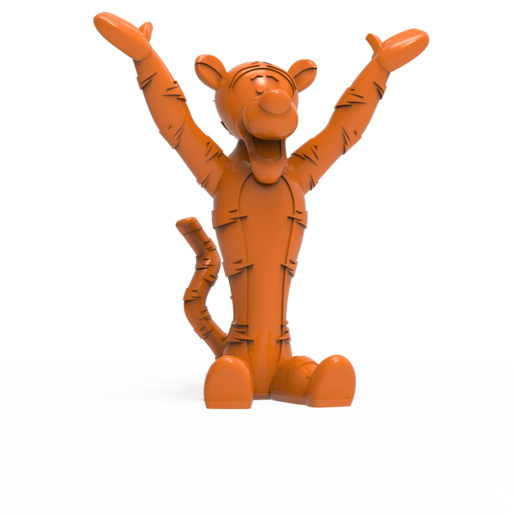 Download free 3D printer files Winnie the pooh - Tigger, hcchong
