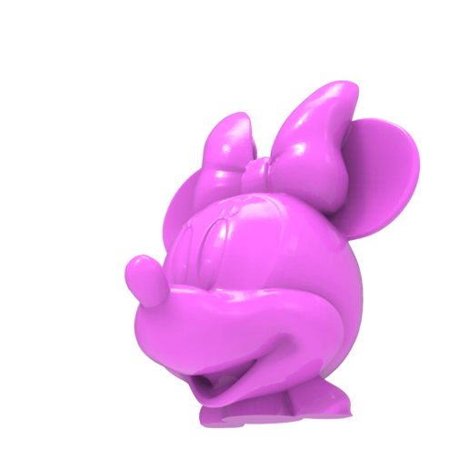 untitled.1638.png Download free STL file Minnie Mouse head • 3D print object, hcchong