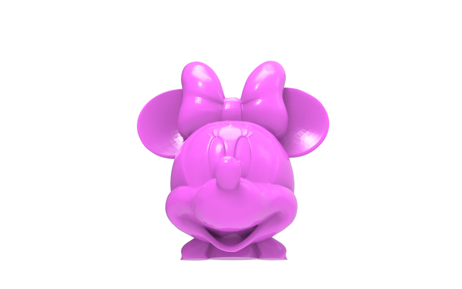 untitled.1637.png Download free STL file Minnie Mouse head • 3D print object, hcchong