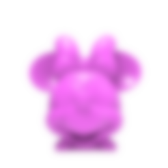 Download free 3D printing designs Minnie Mouse head, hcchong